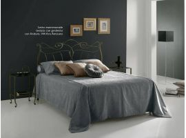 Wrought iron bed Faure'