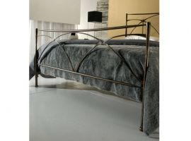 Wrought iron bed Eiffel