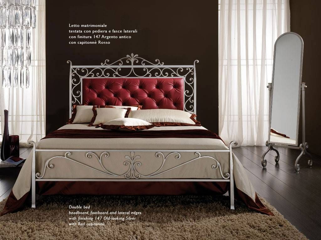 Wrought Iron Bed Bonnard