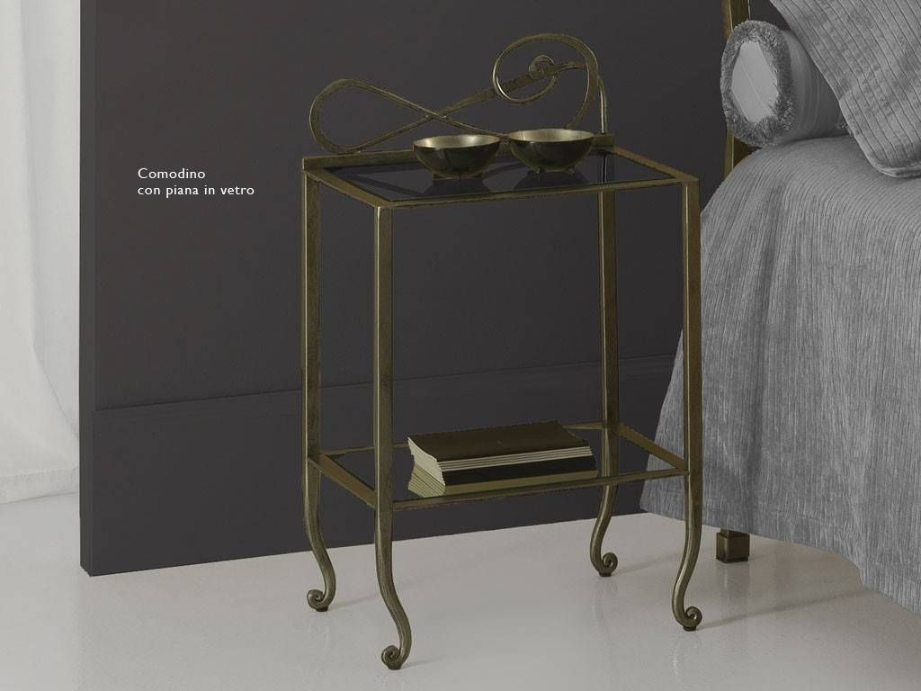 wrought iron bedside table faure u0026 39
