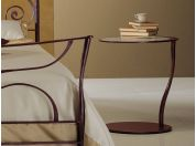 Wrought iron bedside table Galle'