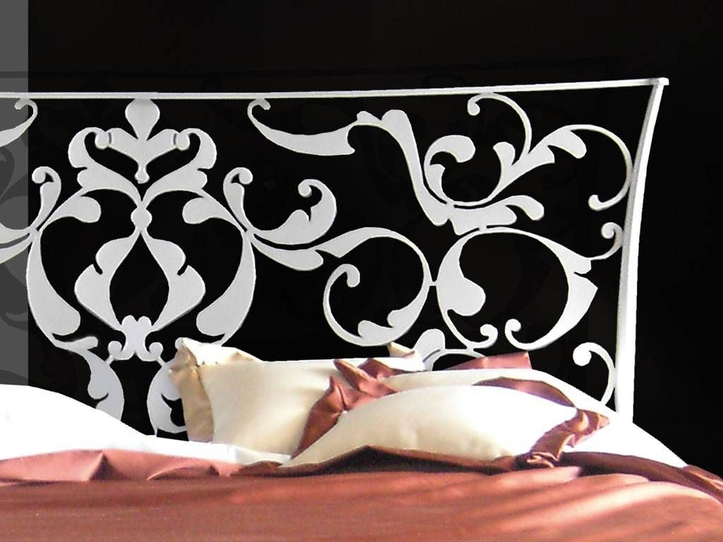lit en fer forg goethe. Black Bedroom Furniture Sets. Home Design Ideas