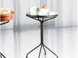 Wrought iron bedside tableStendhal 1-2
