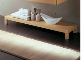 Atina low bench under-basin