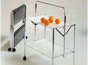 Lockable kitchen cart Select
