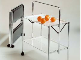 Select lockable kitchen cart