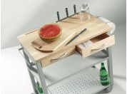 Chef professional kitchen cart