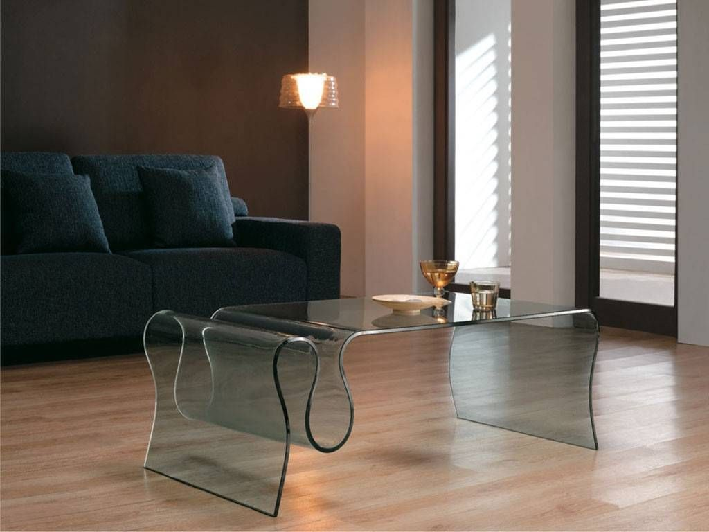 table basse de salon en verre courb dharma. Black Bedroom Furniture Sets. Home Design Ideas