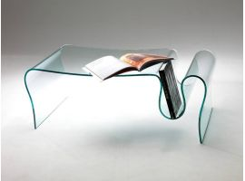 Curved crystall small table Dharma