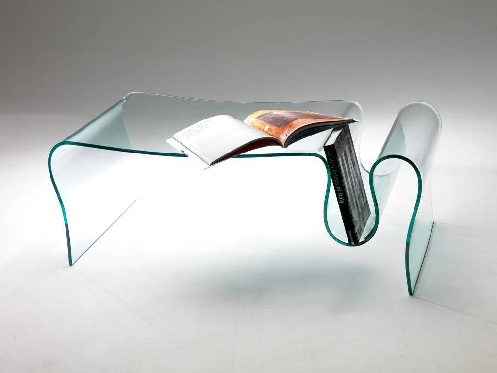 Table basse de salon en verre courb dharma for Table basse salon en verre