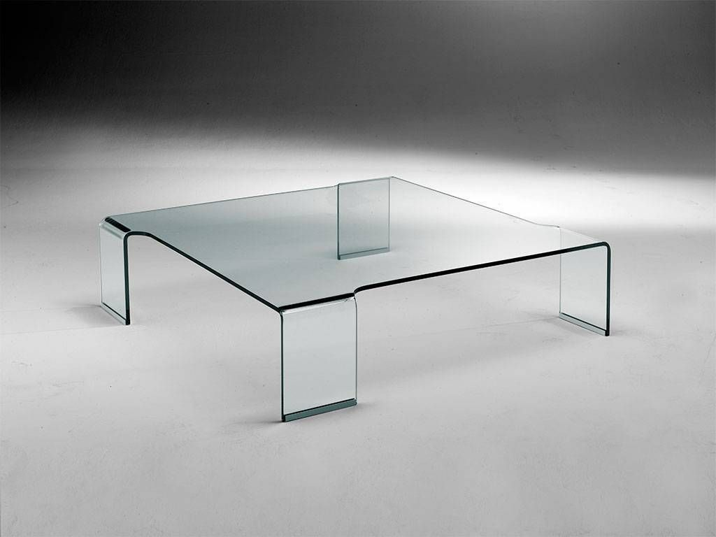 Curved glass small table box for Petite table tv