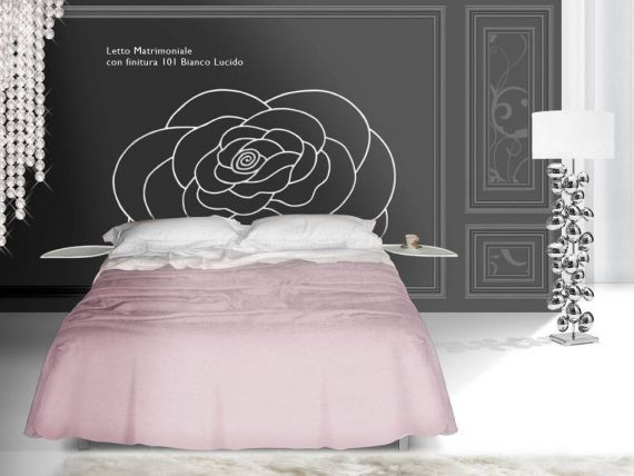 Wrought-iron bed Linneo