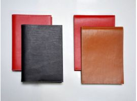 Notepad and Exercise book in real Italian leather