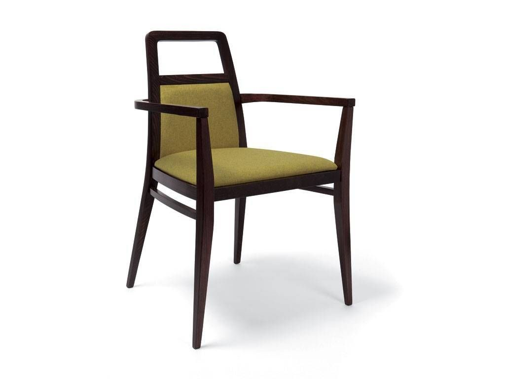 Grace Small Modern Wooden Armchair