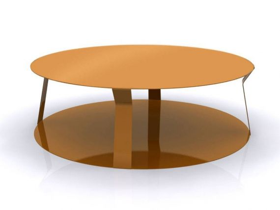 Table basse rond en métal Freeline 2