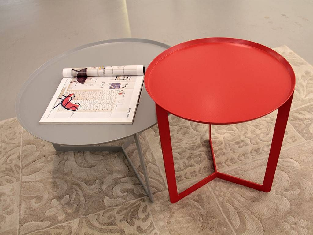 Round Metal Small Table Round 1