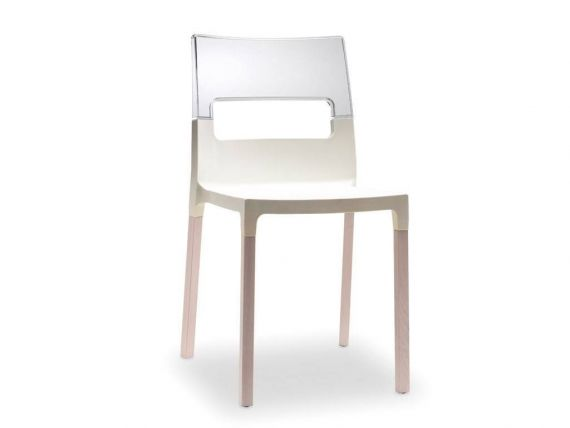 Polypropylene Chair Natural diva