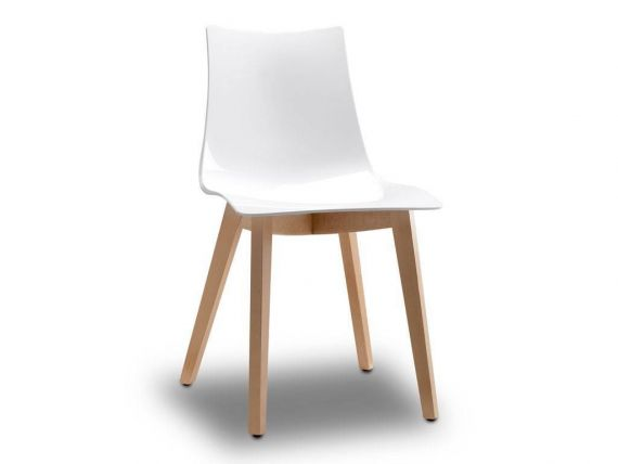 Chair Natural Zebra antishock solid color seat