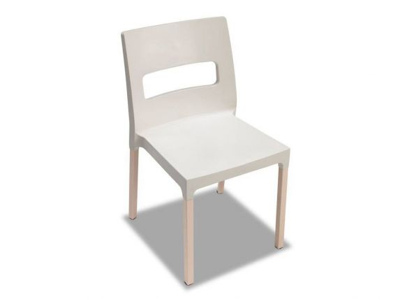 Natural maxi diva polymeric chair