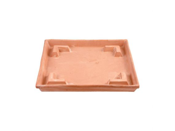 Square flowerpot holder Formicaio 077 terracotta flowerpot holder
