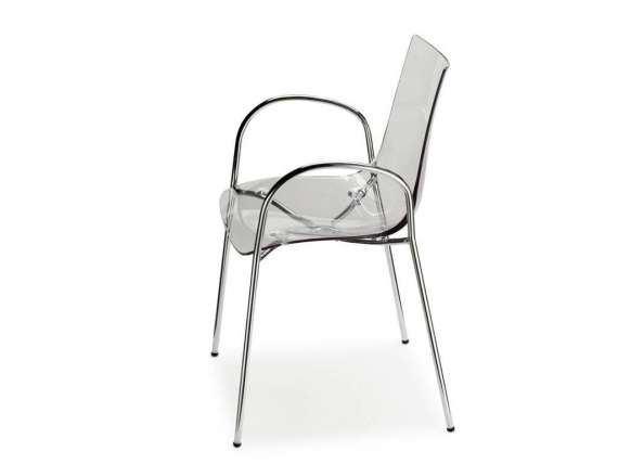 Zebra Antishock with arms Polycarbonate chair