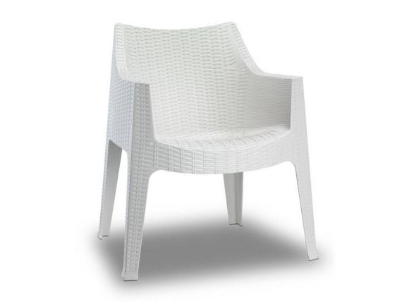 Maxima Polypropylene crossed little armchair