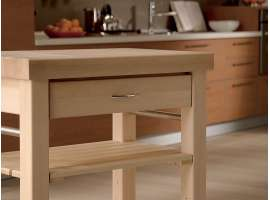 Table roulante multiservice de cuisine Country