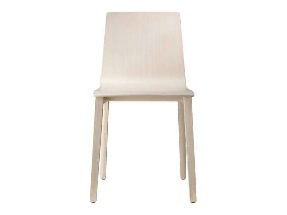 Chair in bleached beech or Smoke Smilla