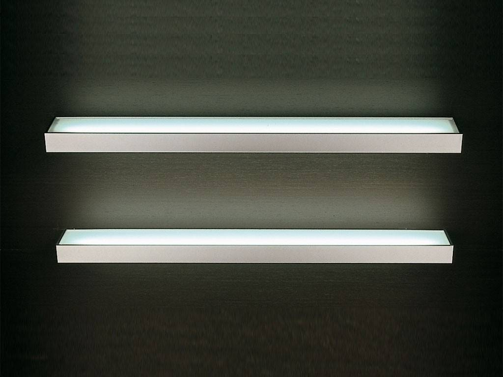 Mensole Vetro Con Led.Mensola Luminosa Led Brandt