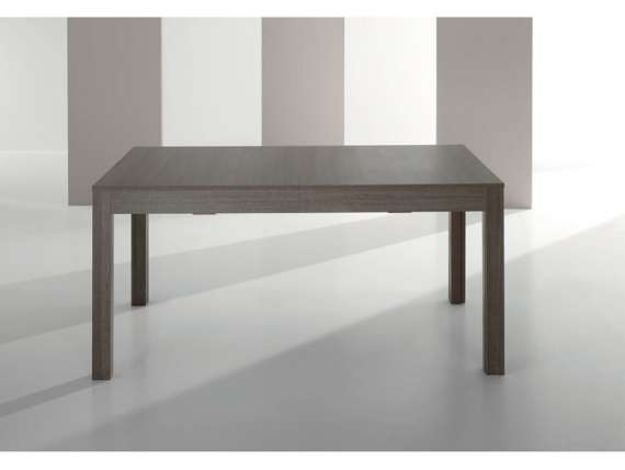 Canzio  extendable table in melamine