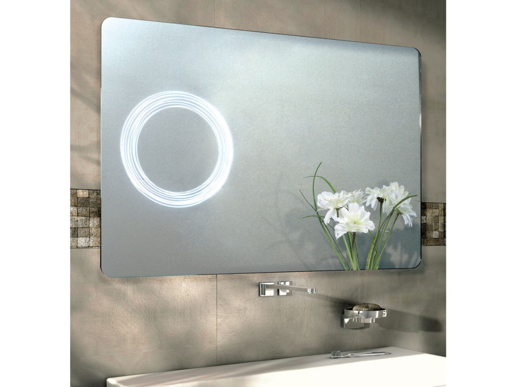 miroir salle de bains led rectangulaire elsa. Black Bedroom Furniture Sets. Home Design Ideas