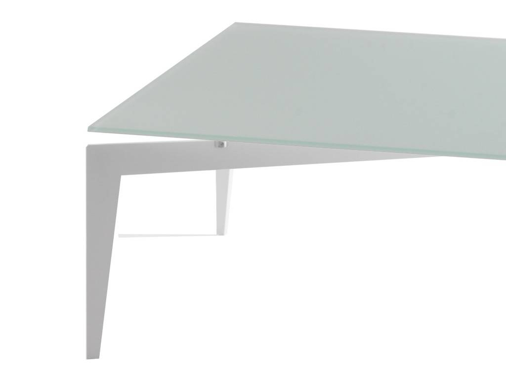 Table basse en verre nordic - But table basse verre ...