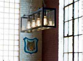 Igor SP4 hanging lamp in metal