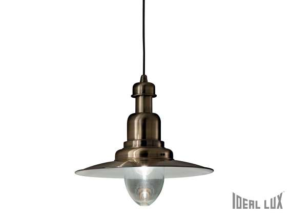 Fiordi hanging lamp in metal