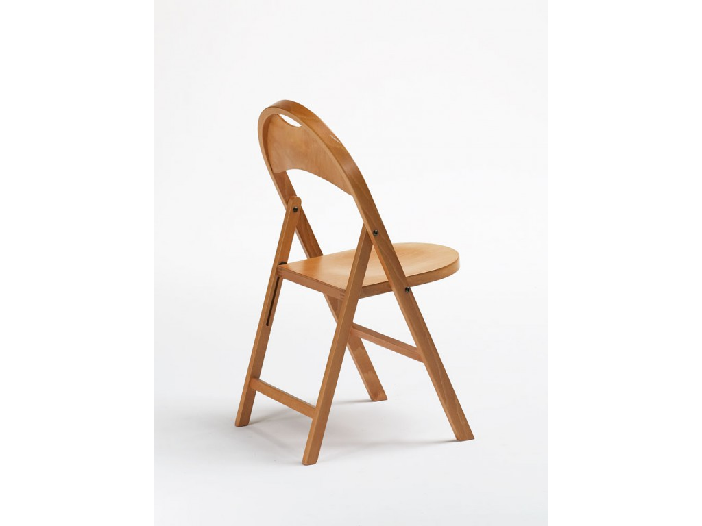 naima wood folding chair