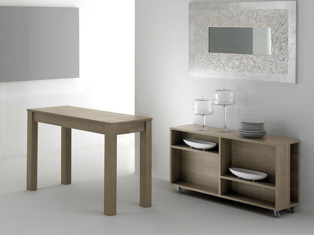Consolle Magic Color.Extendible Table Consolle In Wood Magic Box 320