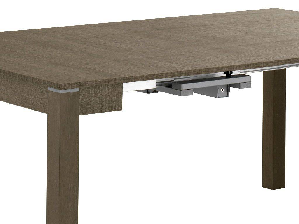 Magic box 320 table console rallonges en bois for Table a rallonge console