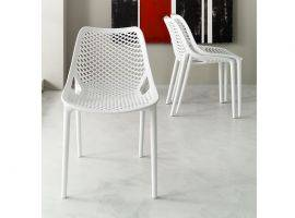 Plastic chair in polypropylene FLO