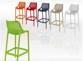 Plastic stool in polypropylene FLO