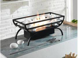Vesta brazier with pebbles