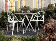 Etoile garden chair in colored plastic
