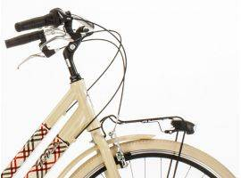Woman aluminium bicycle Glamour Burberry 605