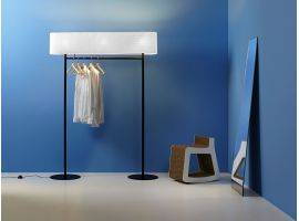 Floor lamp with a coat hanger NOMAD