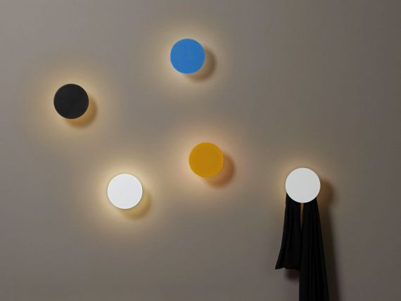 ECLISSE LED wall lamp with hanger