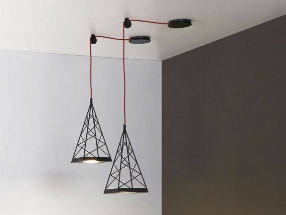 Hanging lamp LED PYLON