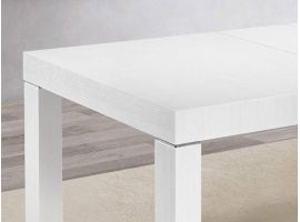 Tiger wooden extensible table