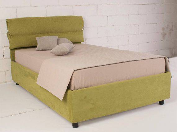 Upholstered double bed Ribbony
