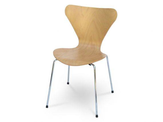 Jacobsen Chair in wood and steel