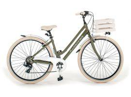 Woman bicycle in aluminum Milano 699