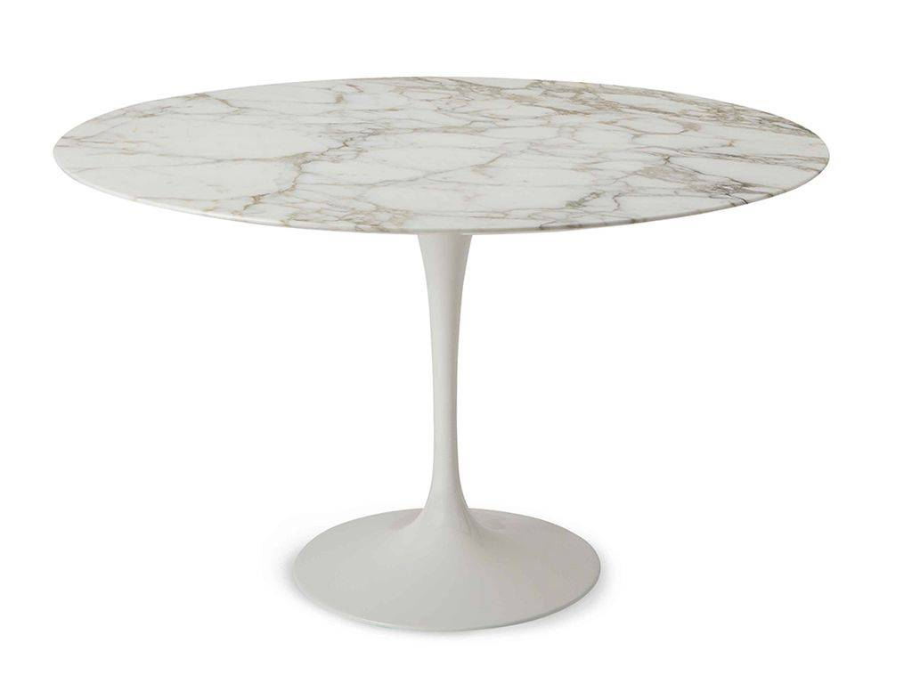 Round Table For 4 Diameter: Round Table Tulip Saarinen Diameter 100